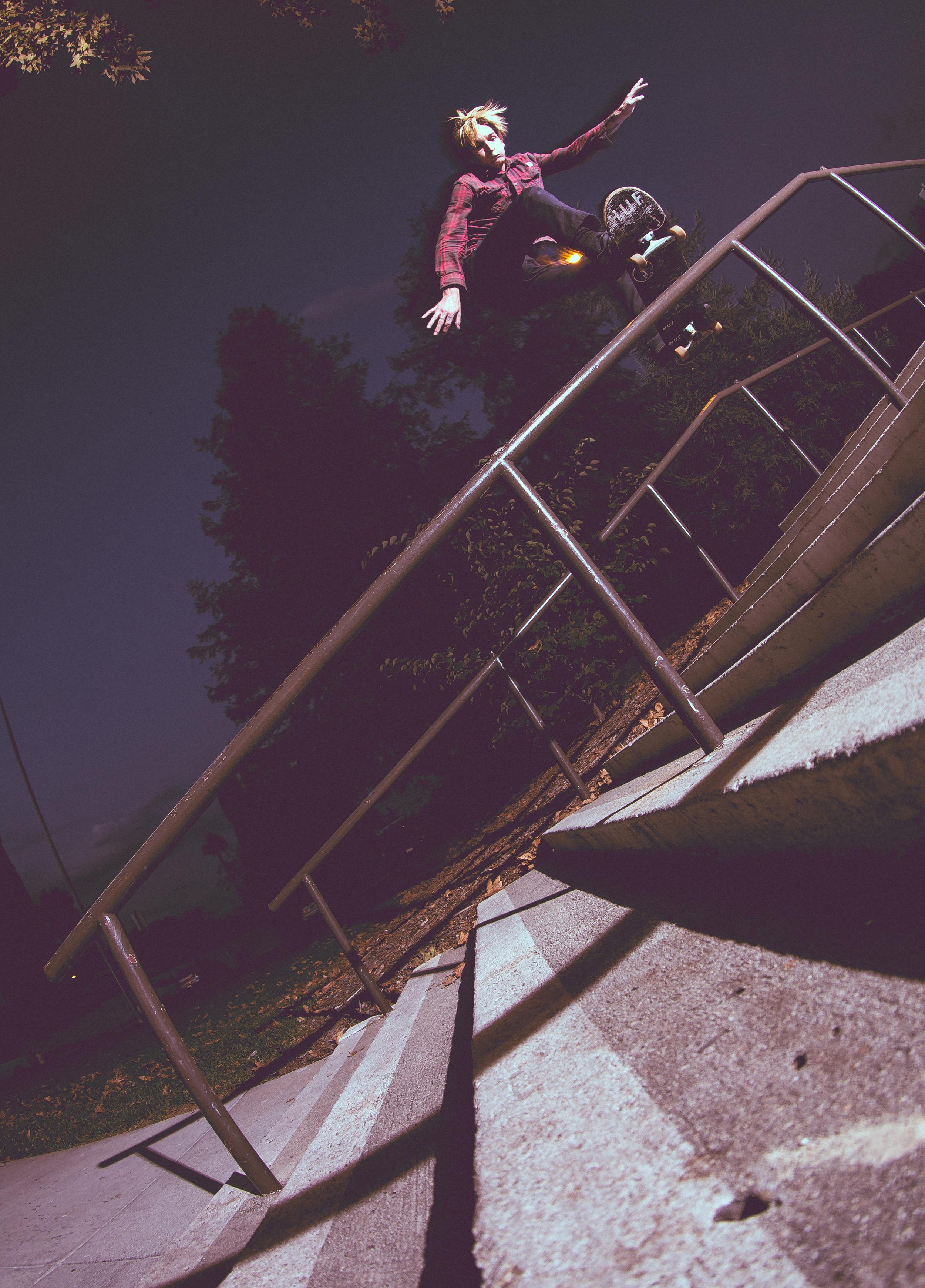 Justin Klegka, Frontside Boardslide
