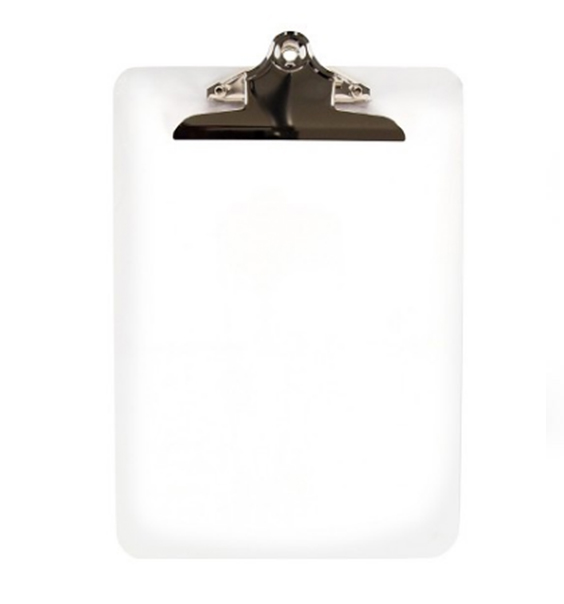 Clear Clipboard for Art Print