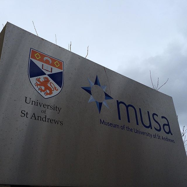 Signage from the University of St Andrews, where Kate Middleton and Prince William spent their college years. 🎓 #TheCollegeDoctor