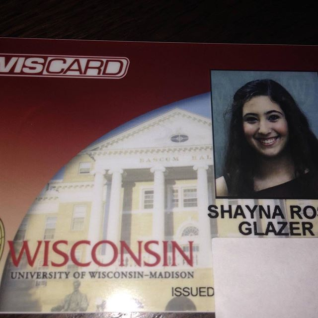 Shayna is officially a Badger! 🎓 #TheCollegeDoctor @shaynaglazer