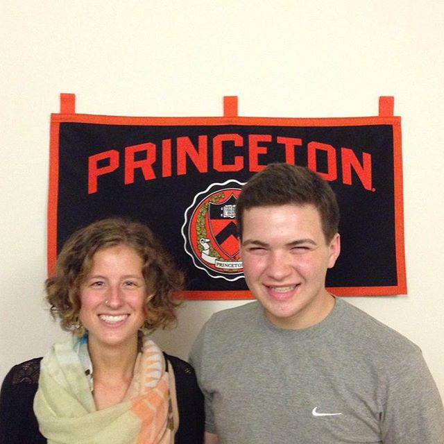 Anna and Jack at Princeton 🎓 #TheCollegeDoctor