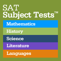 SAT II-SUBJECT TESTS REQUIRED