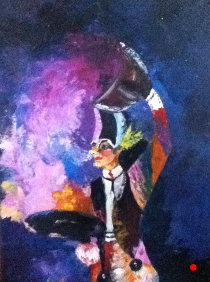 Arlequin, cirque du soleil