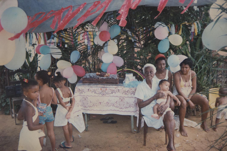 Festa para as crianças organizada durante muitos anos por Dona Zeinha