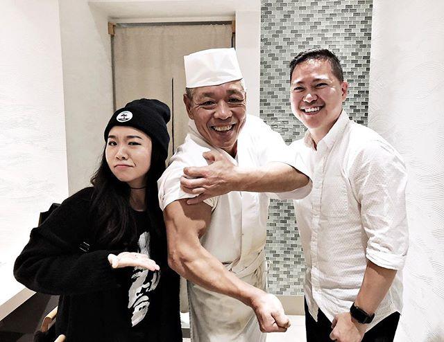 The sushi man himself, Naomichi Yasuda 💪🏻🍣