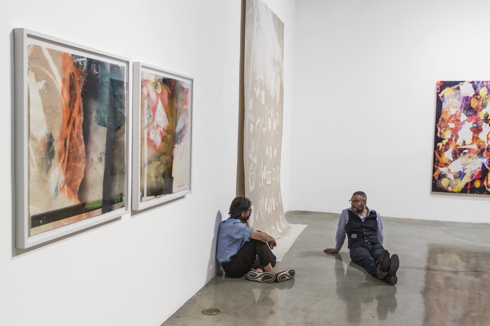 IAIN MUIRHEAD November 7 -11, 2016. Installation view East Gallery CGU, Claremont. Photo credit:Sam Kyser.