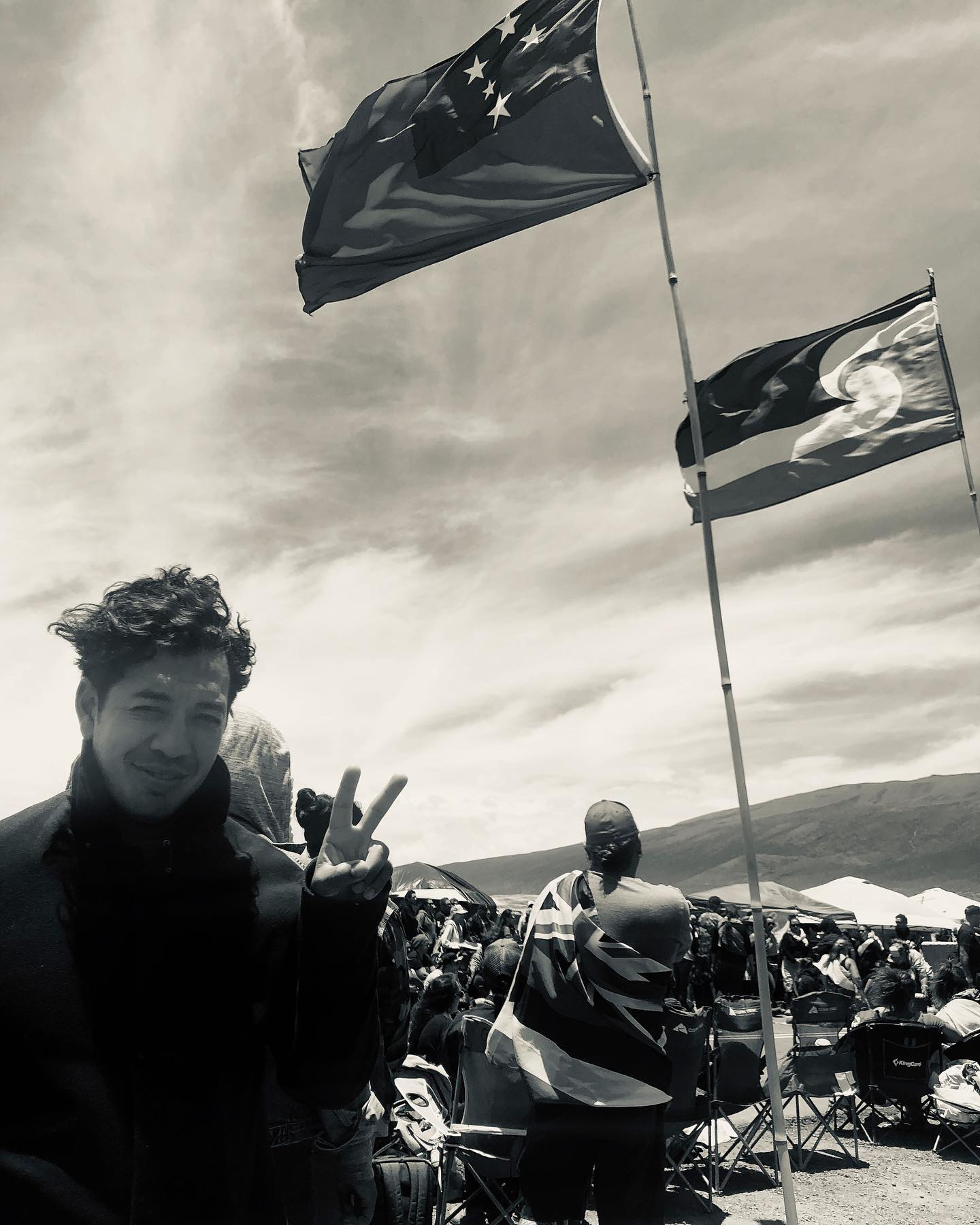 HAPA's inaugural Kuleana Academy Fellow, Sonny Ganaden, is one of the lawyers providing pro-bono legal services to the kupuna arrested protecting Mauna Kea on July 17, 2019.