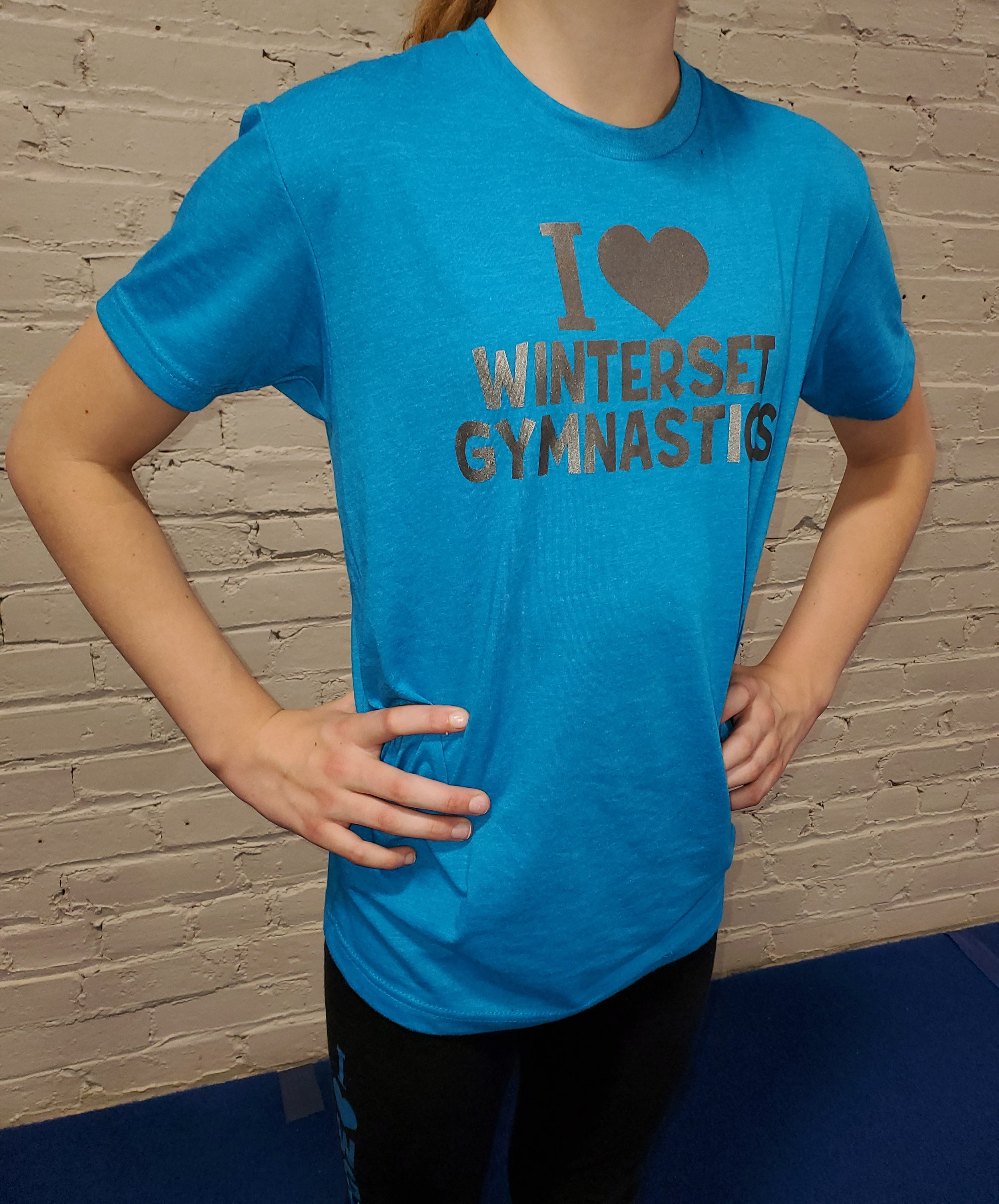 I {HEART} WINTERSET GYMNASTICS $15   Assorted Colors and Sizes  Youth and Adult Sizes