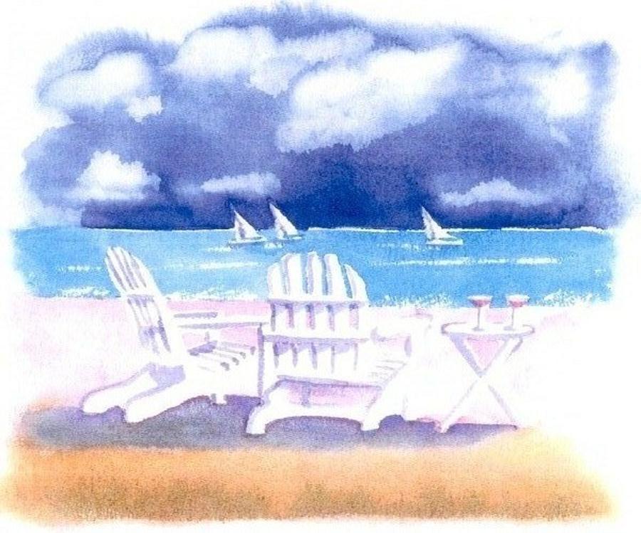 Watercolors by Joe Gallant