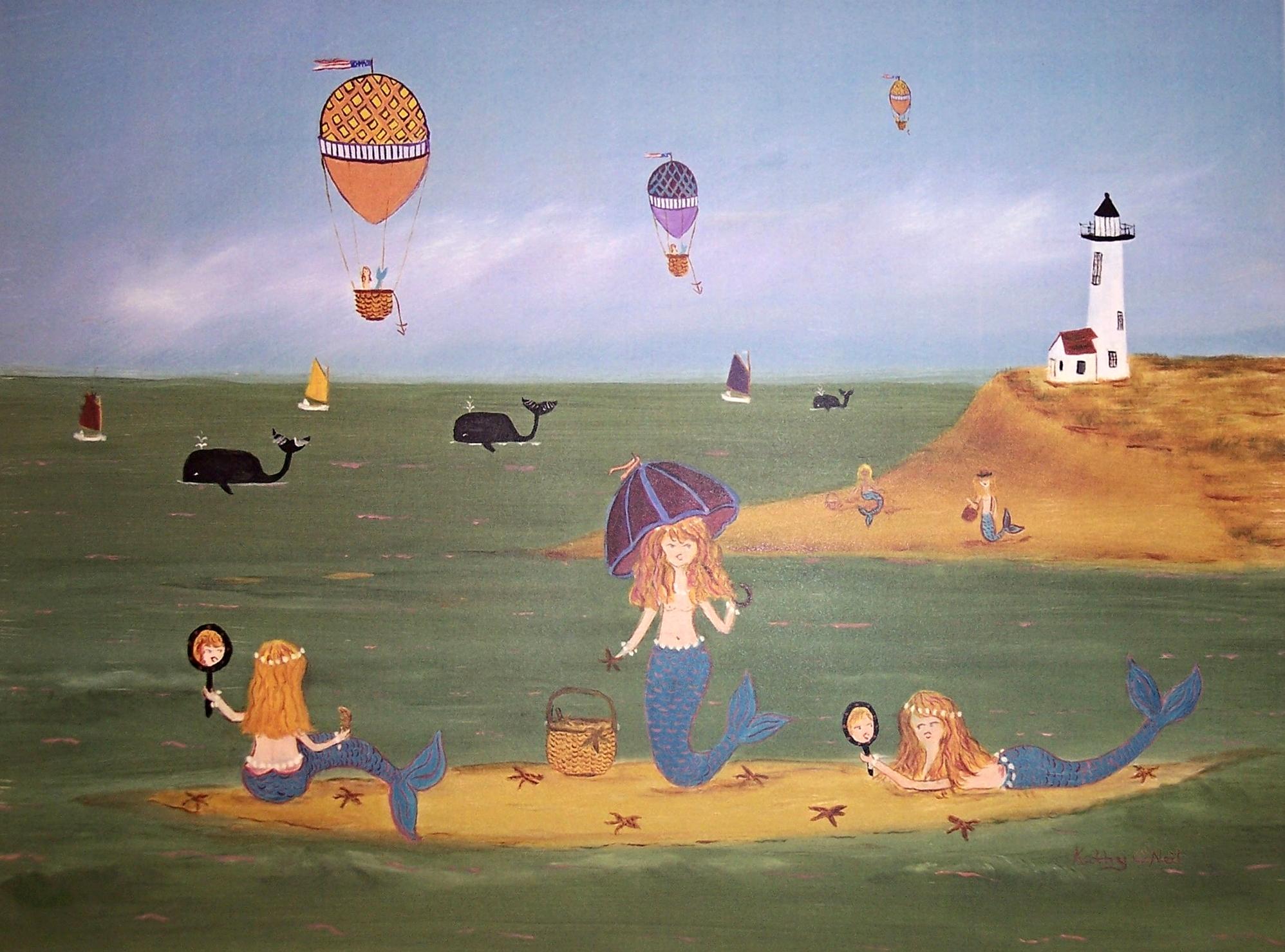 Whimsical Prints by Kathy O'Neil