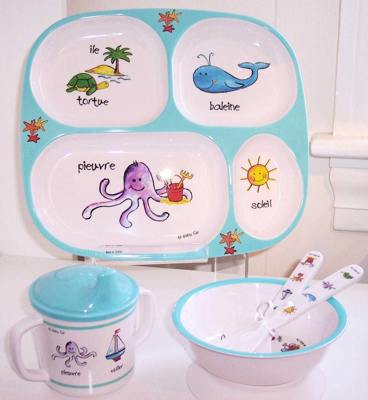Baby Cie Children's Tableware