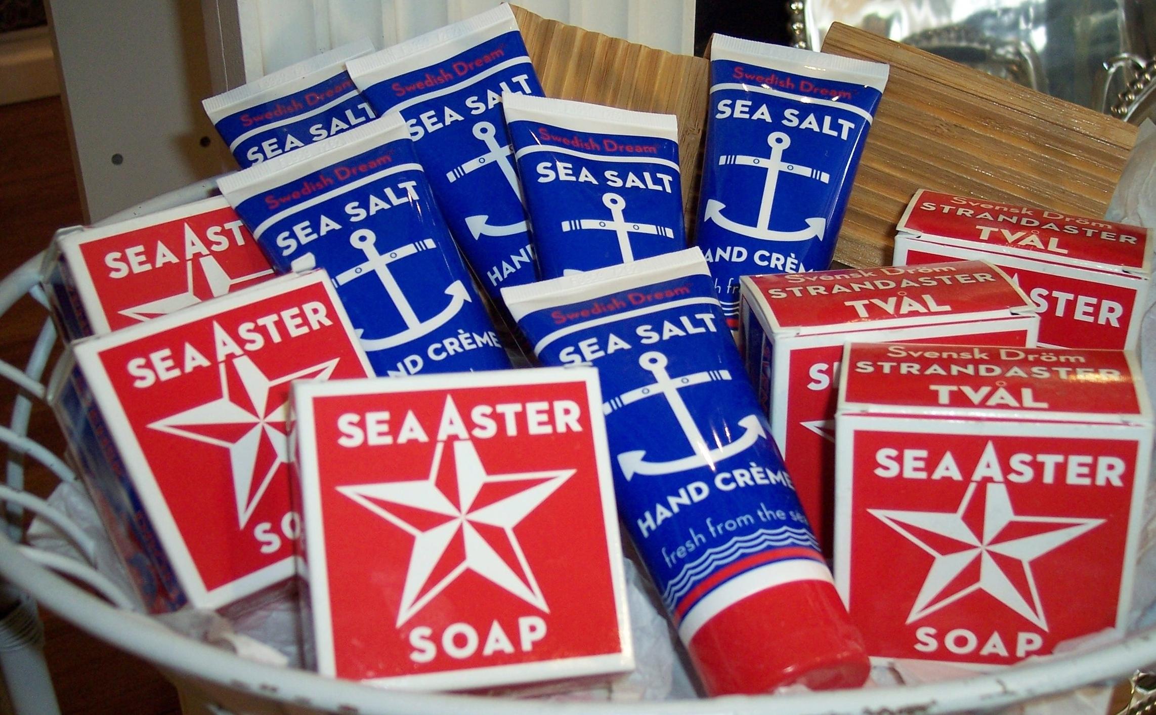 Swedish Dream Sea Salt Soaps & Lotions
