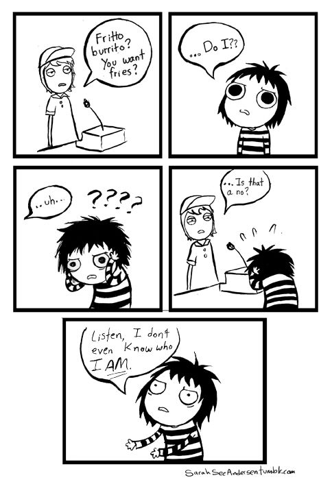Comic by Sarah Andersen at  Sarah's Scribbles