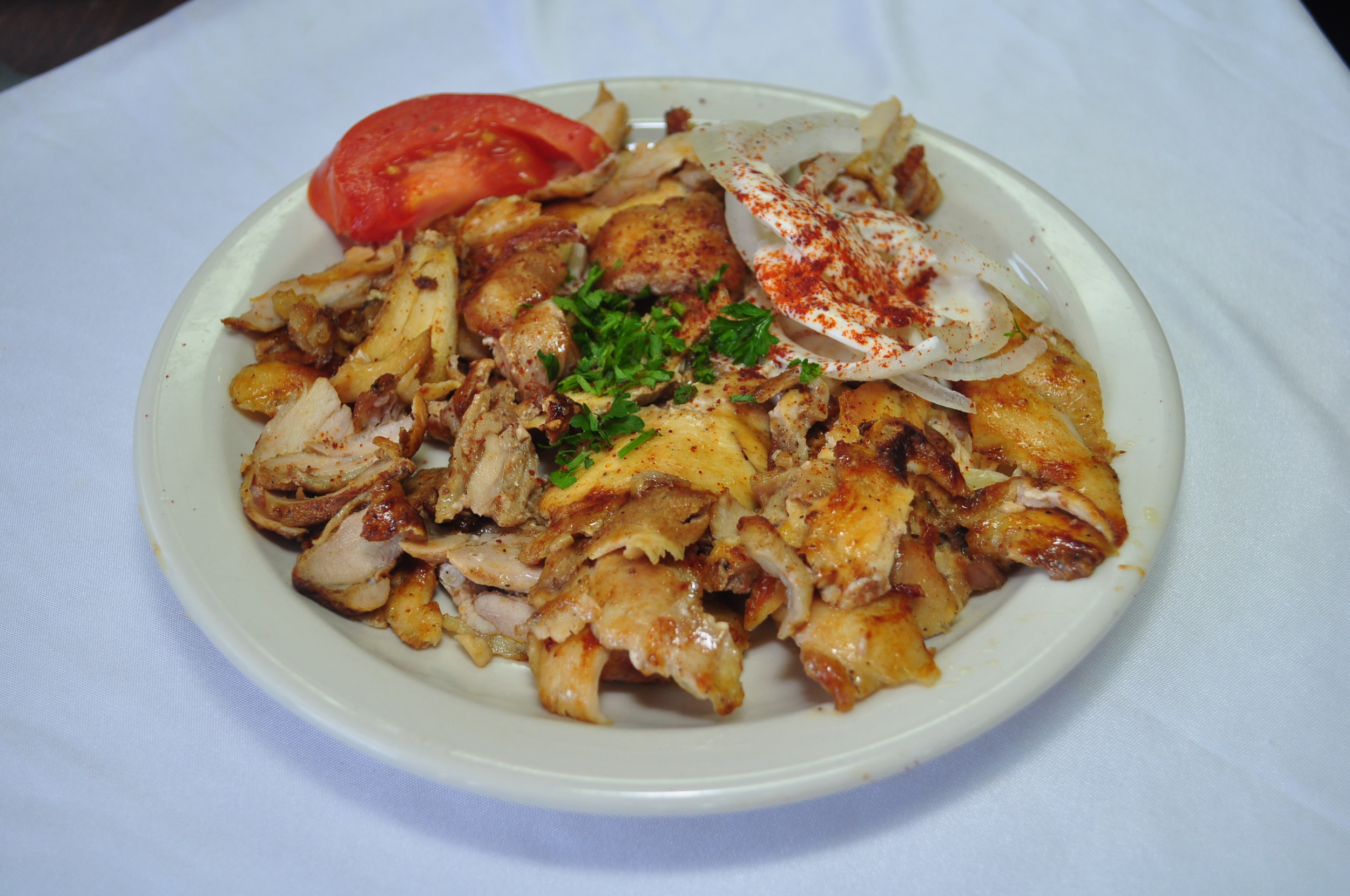 Chicken Shawerma Plate
