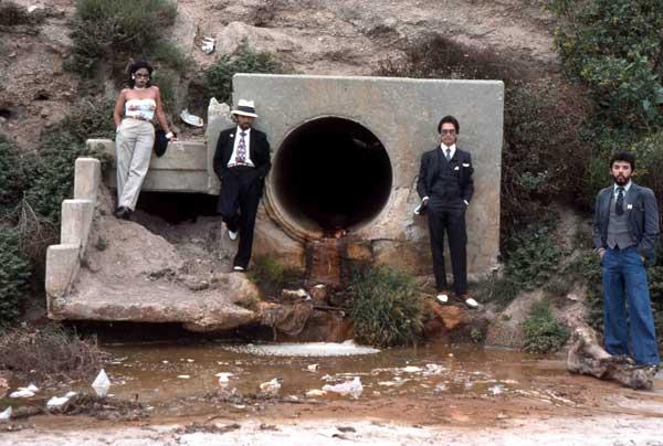 "Asshole ""Mural"",  1974. Harry Gamboa Jr. (Featuring the four founding members of Asco)."