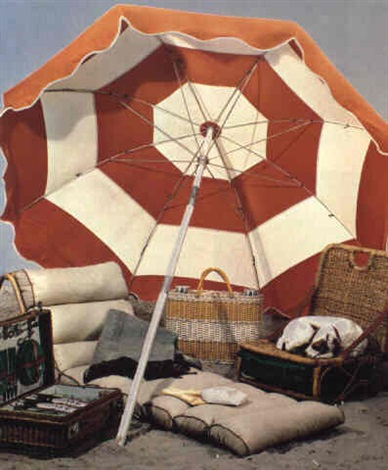 "PAUL OUTERBRIDGE, ""BEACH EQUIPMENT,"" 1936"
