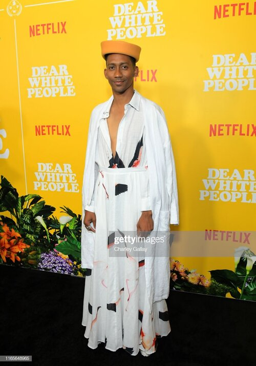 """LOS ANGELES, CALIFORNIA - AUGUST 01: Griffin Matthews attends the premier of the Netflix Original Series """"Dear White People"""" Volume 3 at Regal LA Live on August 01, 2019 in Los Angeles, California. (Photo by Charley Gallay/Getty Images for Netflix)"""