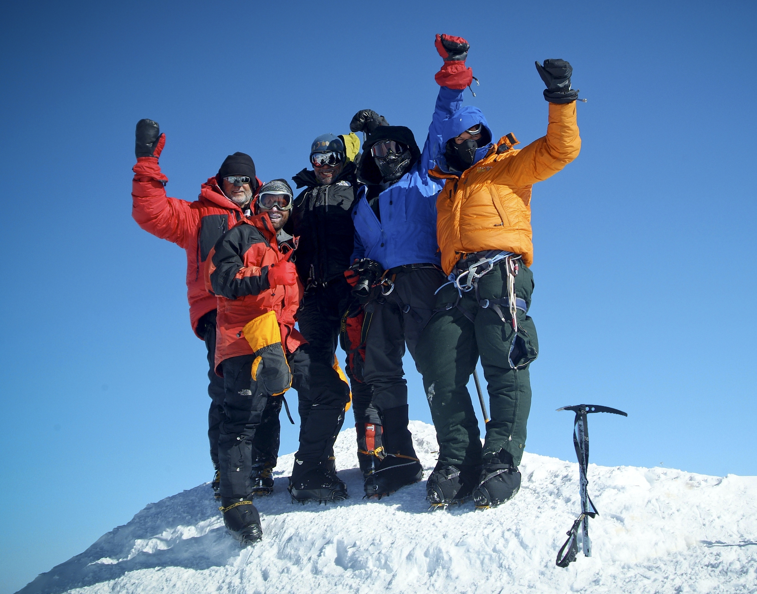 Brad on Top of Mount McKinley 2009