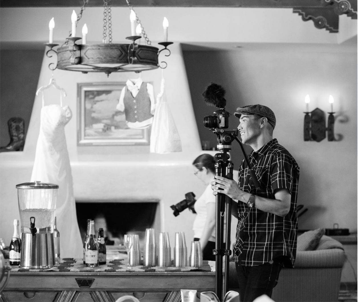 Jason Manning works magic with a camera. He has a unique way of capturing footage that makes a bride and groom so at ease. A time-lapse artist, talented and can run the show. His background stems for very high stress shoots for the snowboarding and skateboard industry and has gone above and beyond with taking his talents to the wedding film industry.