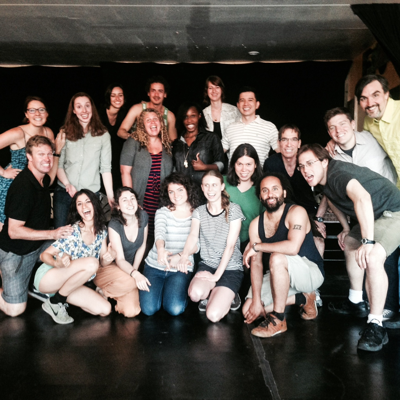 Stef & Rachel B's improv class in Brooklyn