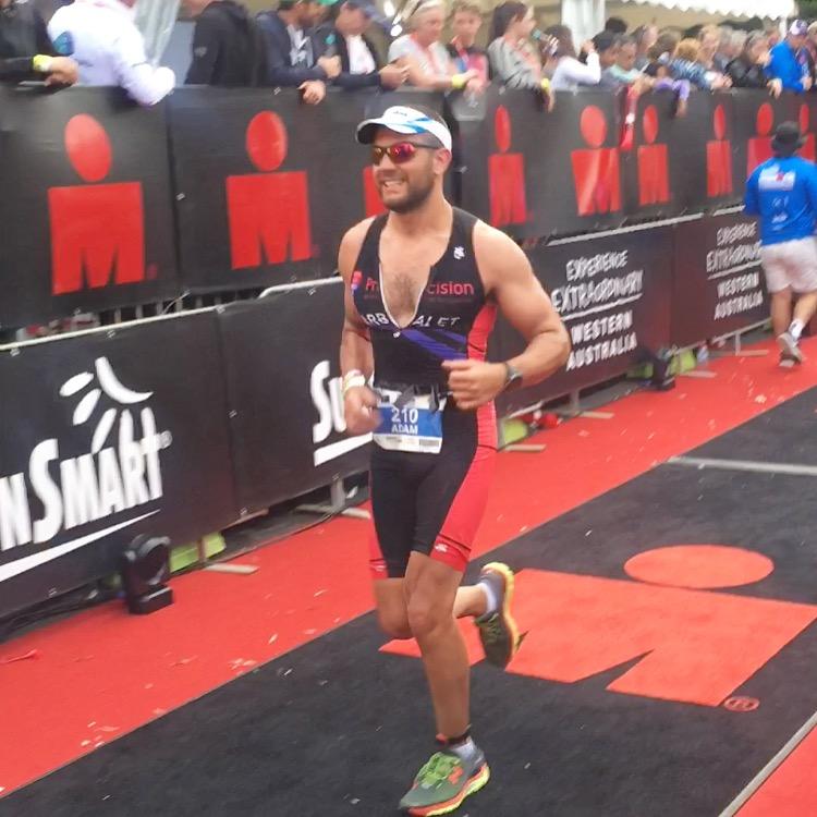 Running down the finish line