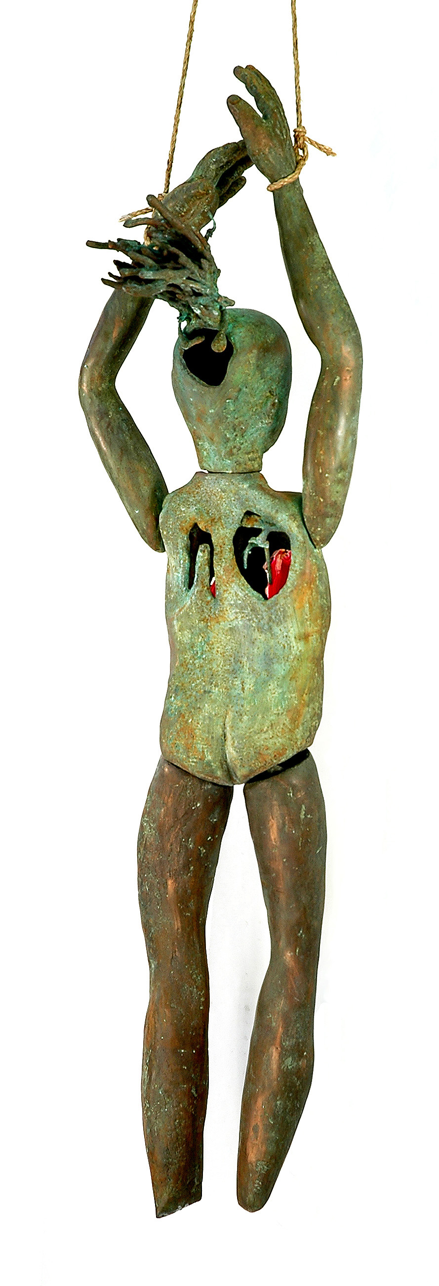Puppet (back view), 2003-5