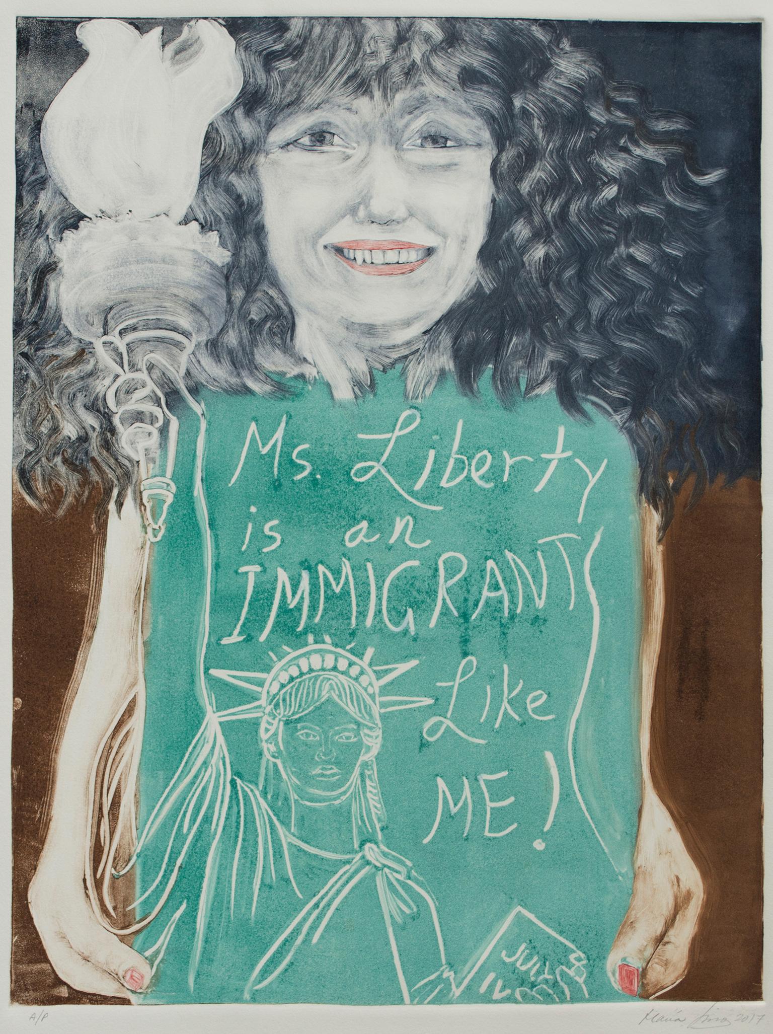 Ms. Liberty, Immigrant