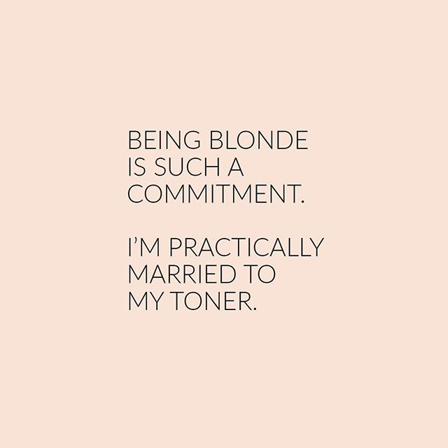 Ya. But it's totally worth it right?! 😜 happy Monday funday! @lexibannister_hair #lexibannisterhair .. .. .. #olaplex #blondehighlights #blondetoner #hairquotes #hairquote #funnyquotesdaily #relatablequote #relateablequotes #mumlifequotes #canberrahair #canberrasalon #dnaorganics #blondeme #maneaddicts #modernsalon #ghdaustralia