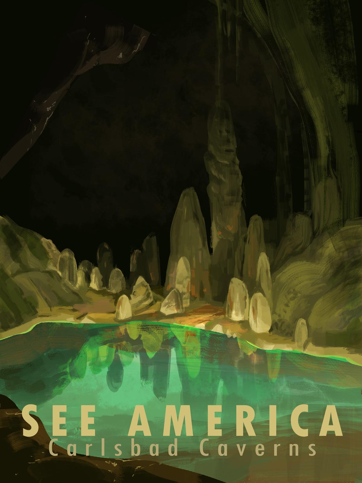 """""""See America - Carlsbad"""" by Alyssa Winans, 2014"""