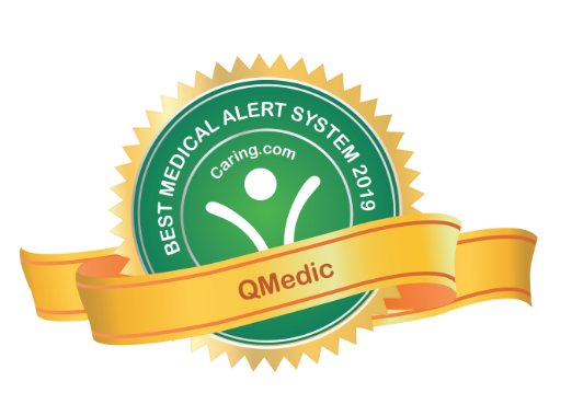 QMedic was named the    Best Medical Alert System    of 2019 by Caring.com