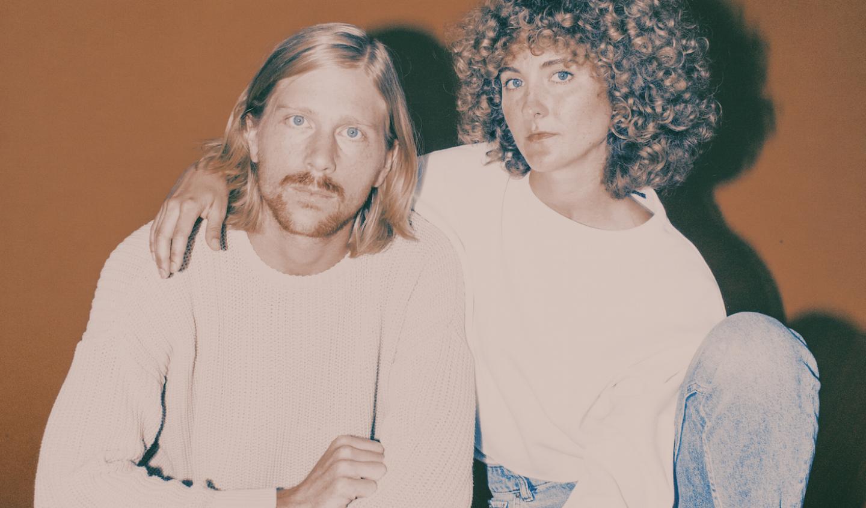 Patrick Riley and Alaina Moore of American indie-pop duo 'Tennis'