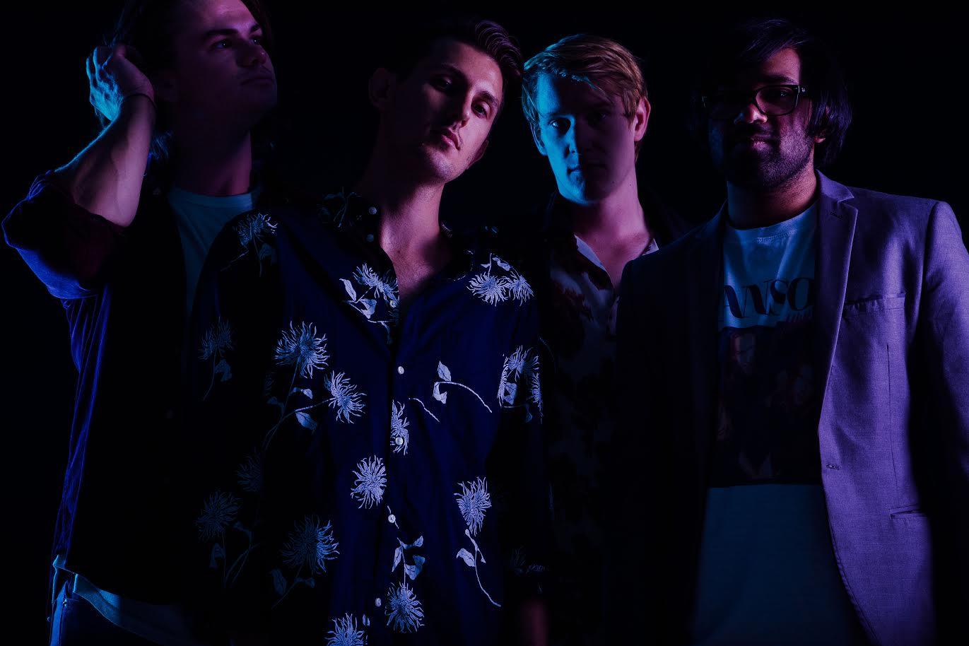 Retro Culture (from left to right) Matthew Hives (drums), Matt Connelly (vocals/keys), Matt Phillips (guitar), Daniel Boca-Vista (bass/keys)