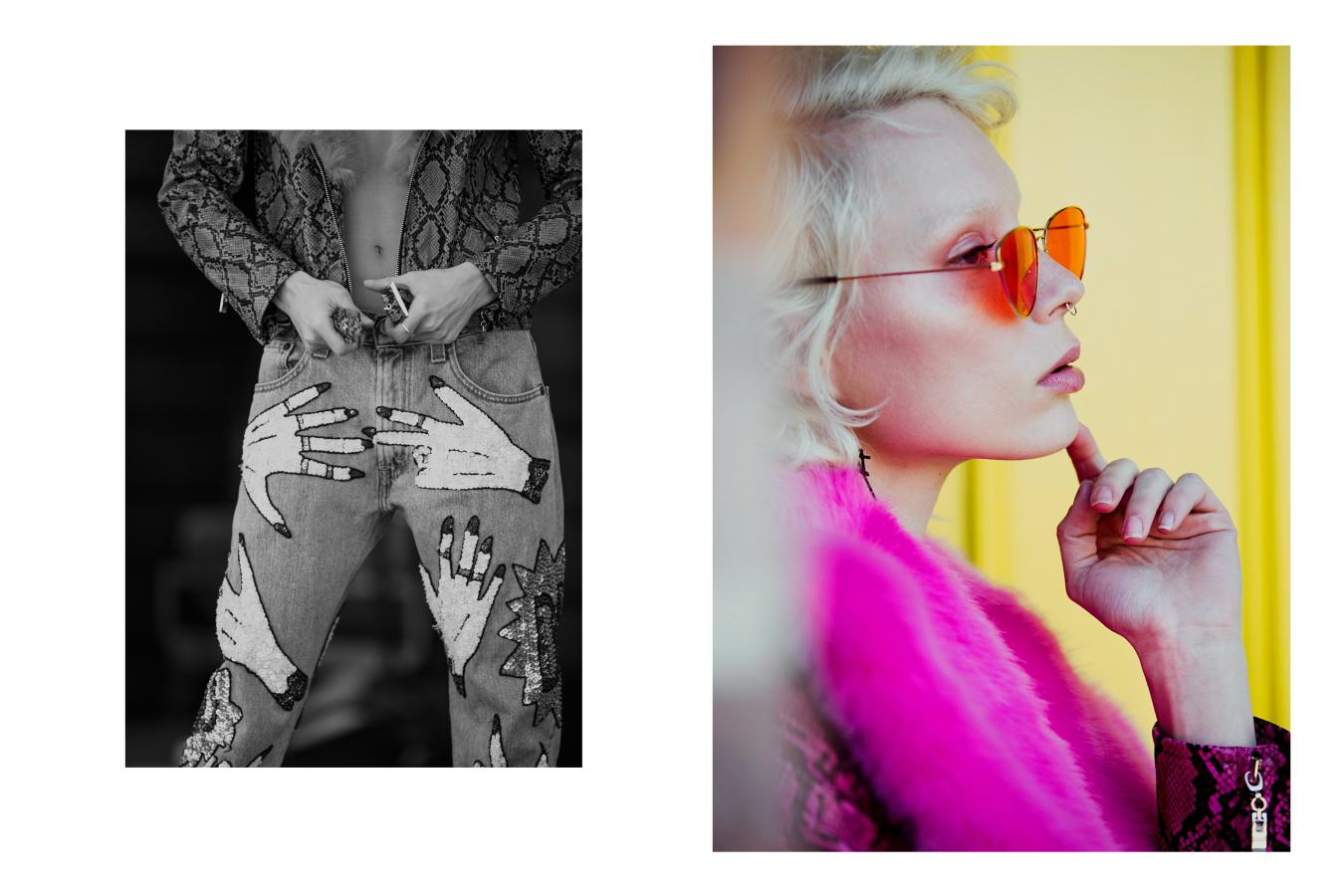 Jacket Laurel & Hector, Jeans Discount universe, Heels Uturn Vintage, Sunglasses Vintage