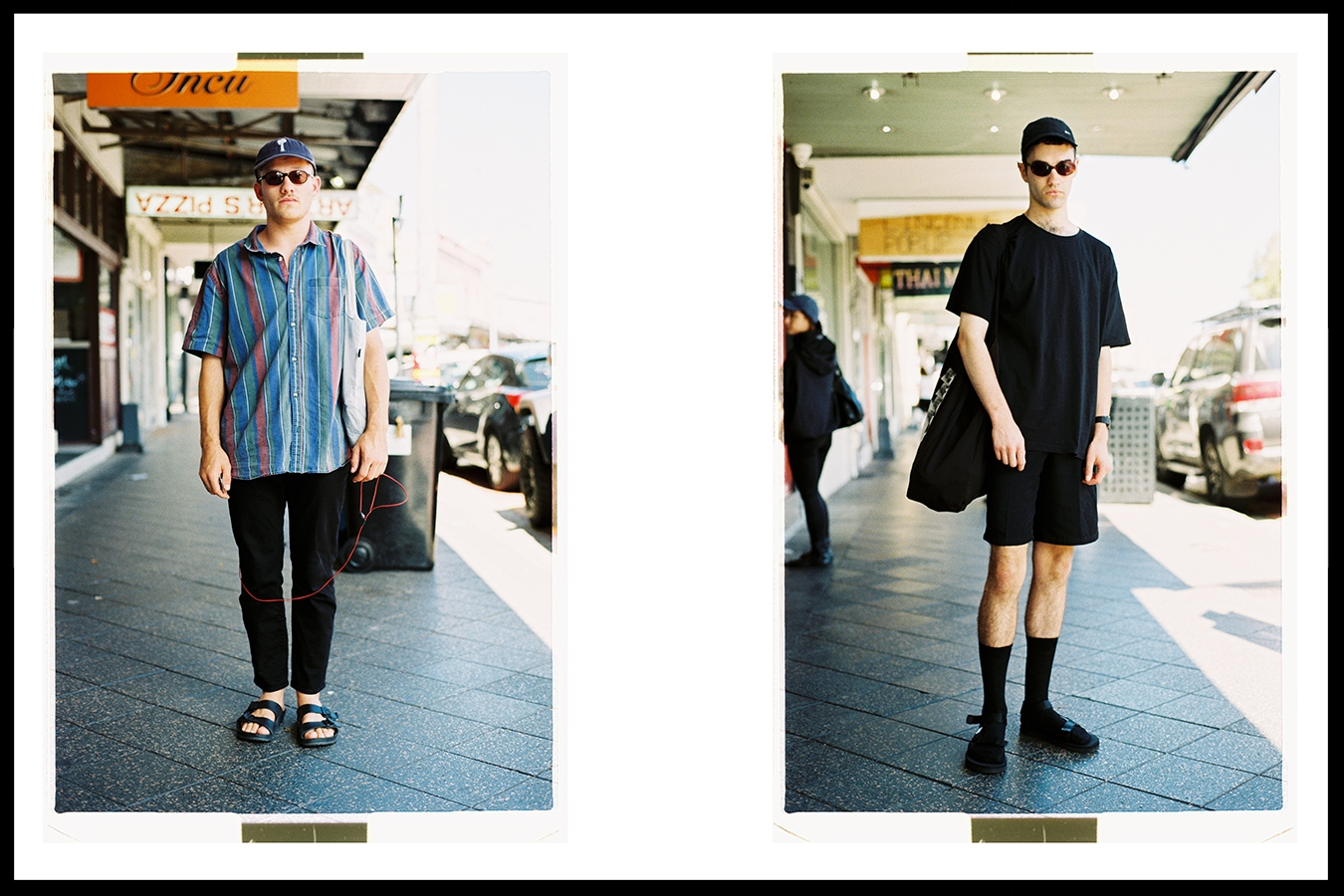 Meet Oliver (left) @seville_longbottom and Ahsley James (right) @s_eparatist// Nikon F3 - Fuji Industrial 100 film