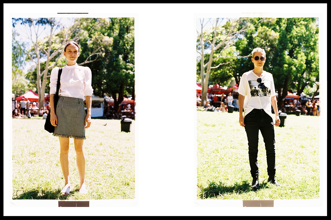 Meet Ollie (left) @ollie_henderson and Arca (right) @arcybay // Nikon F3 - Fuji Industrial 100 film