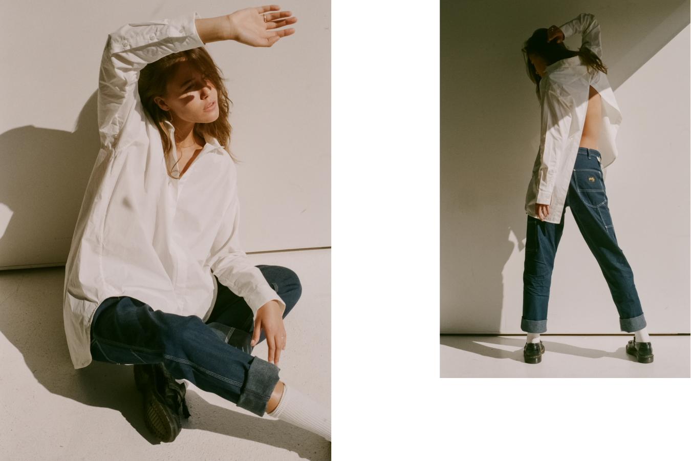 Shirt Bassike, Pants Stan Ray