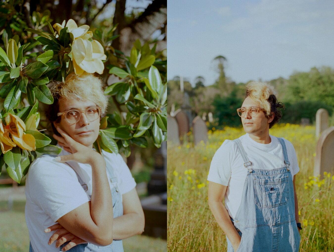 Rubi of Slow Ships Music, shot in Lidcombe 2018