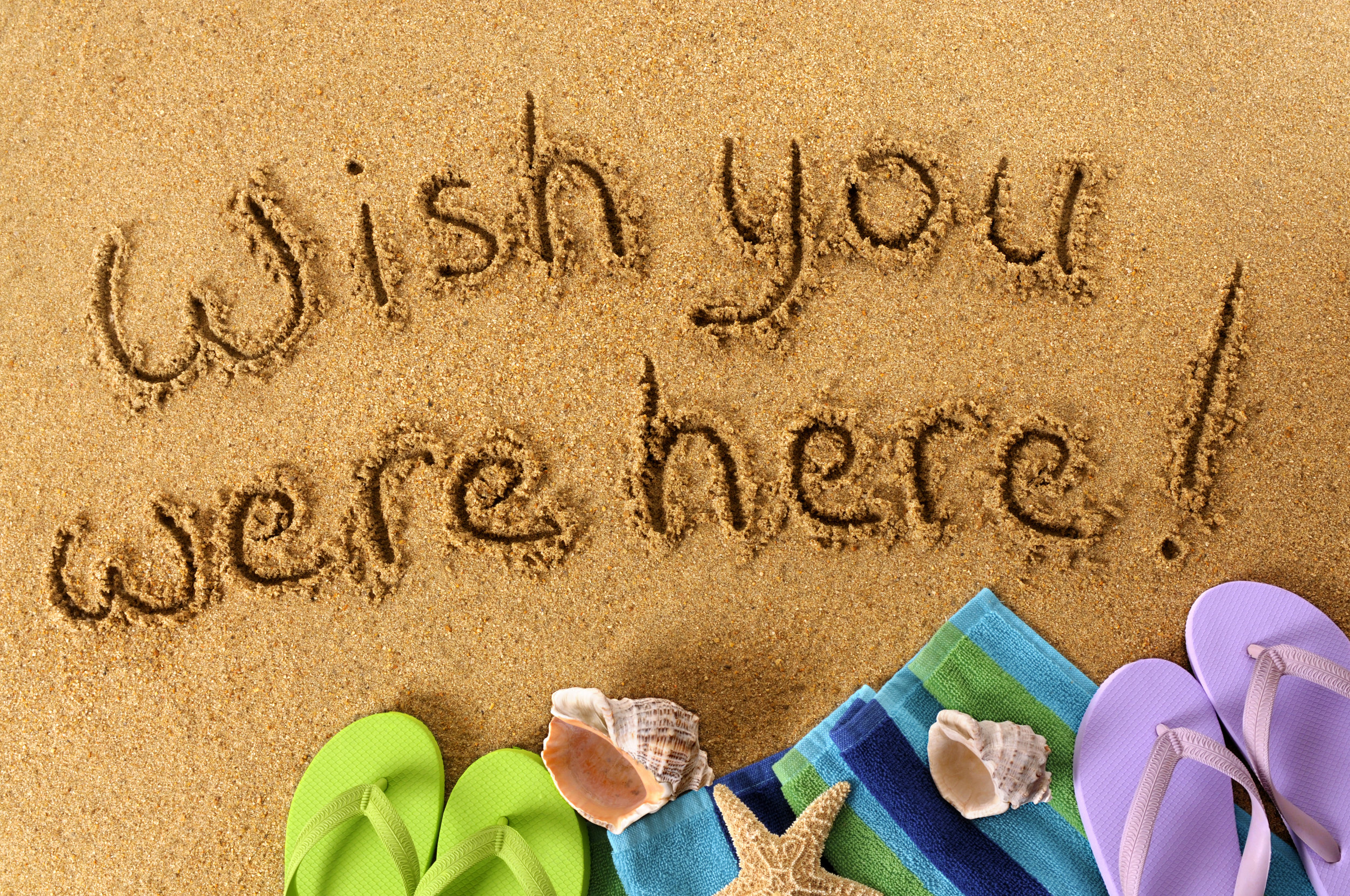"Introducing our ""Wish you were here!"" photography sessions."