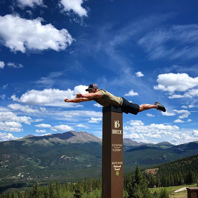 Found Superman in Breckinridge, Colorado.  #11000feet #breckinridge #colorado #outdoors #hiking #mountain #superman
