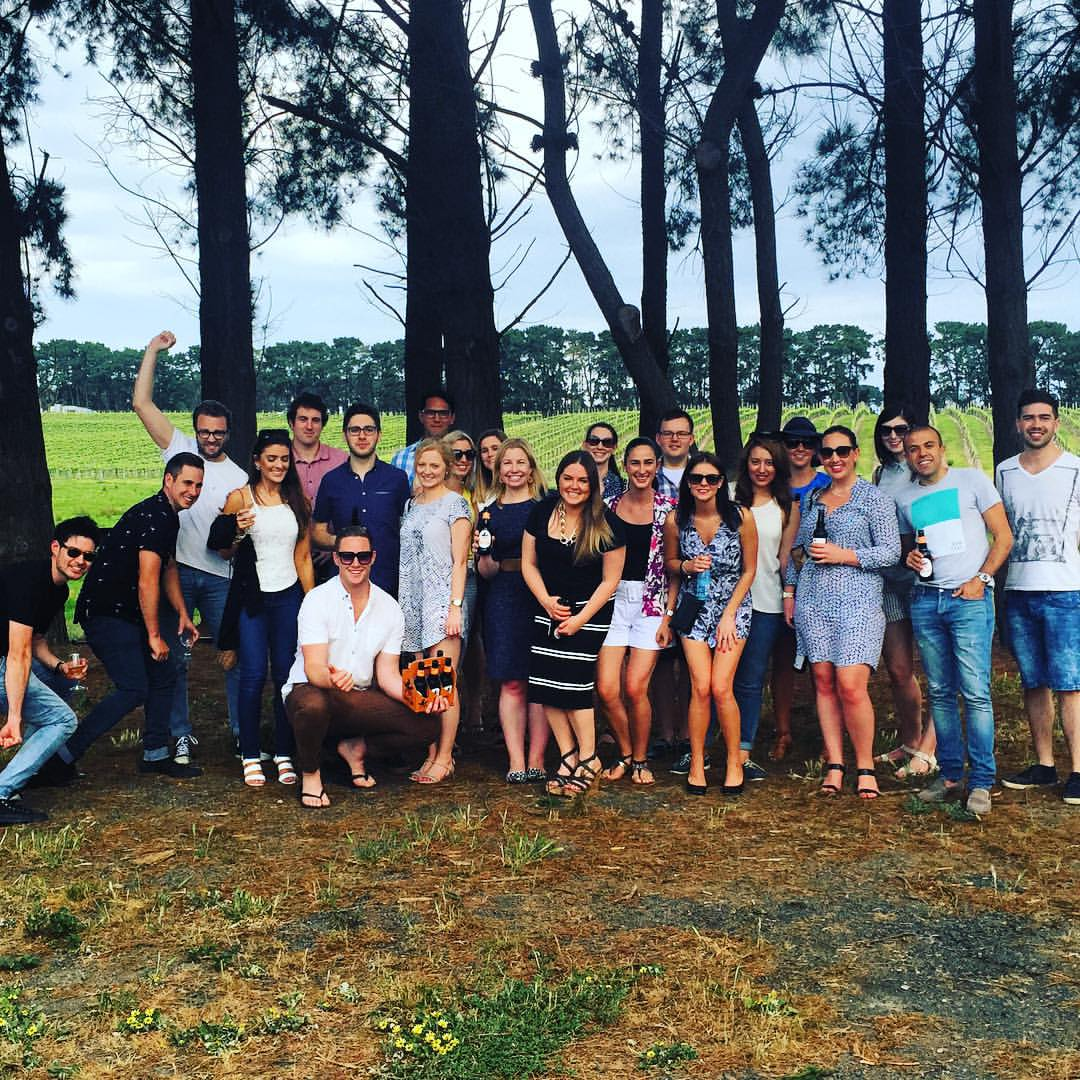 Geelong Young Lawyers Winery Tour
