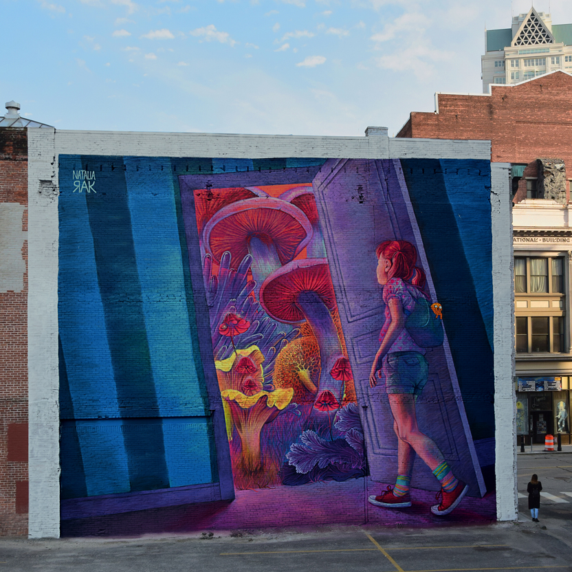 """NATALIA RAK """"Adventure Time"""" curated by INOPERAbLE for  Avenue Concept , Providence RI, USA"""