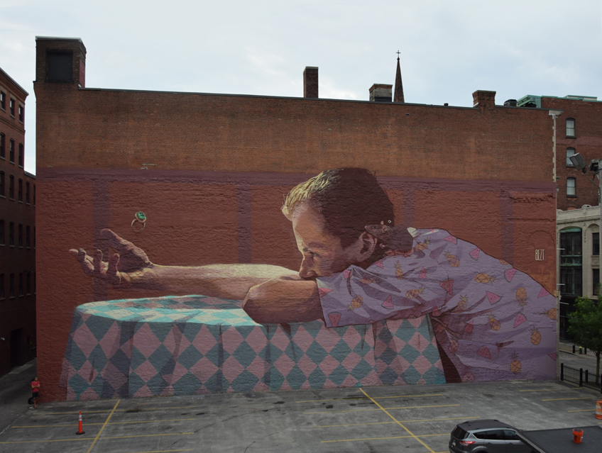 """BEZT  """"She never came"""" curated by INOPERAbLE for  Avenue Concept , Providence RI, USA"""