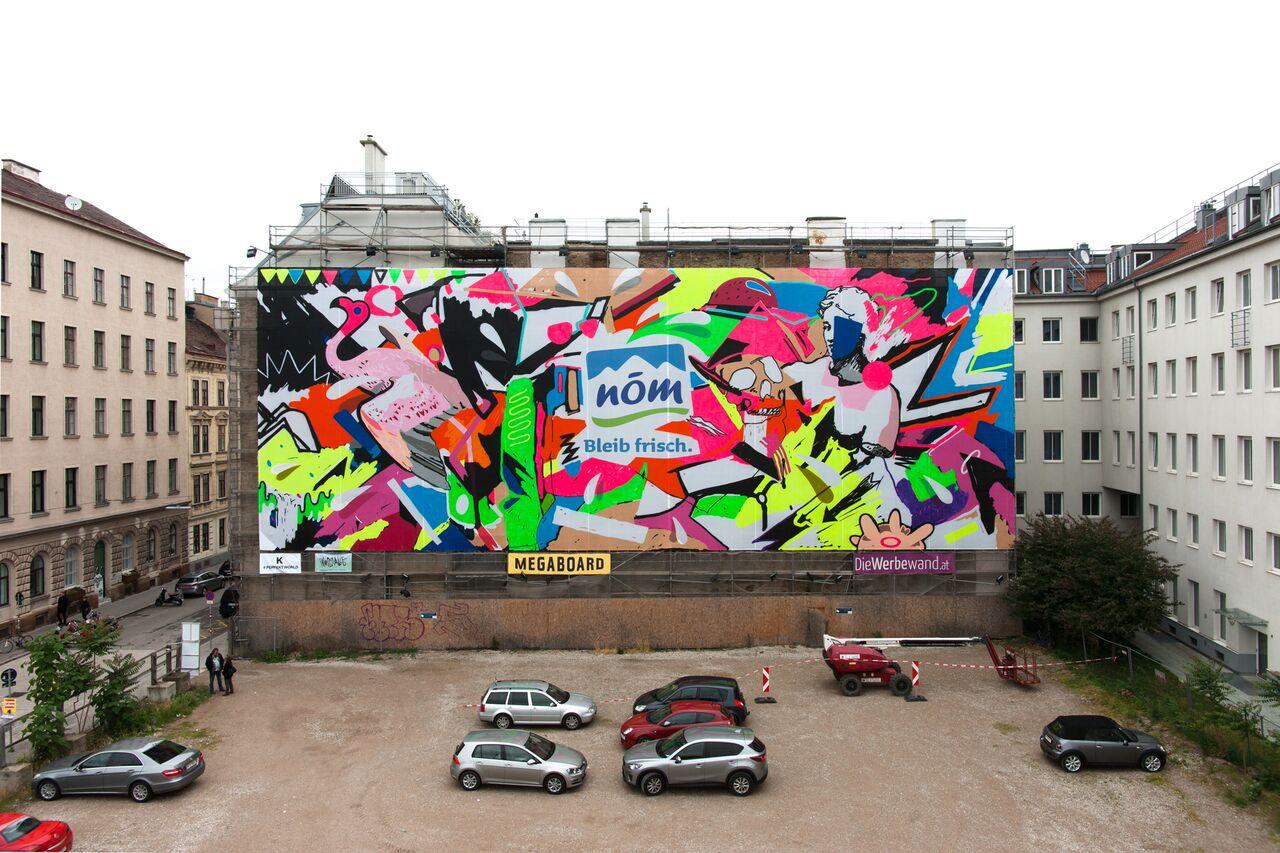 PERFEKT WORLD for NÖM, in collaboration with Farmor , Vienna 2015
