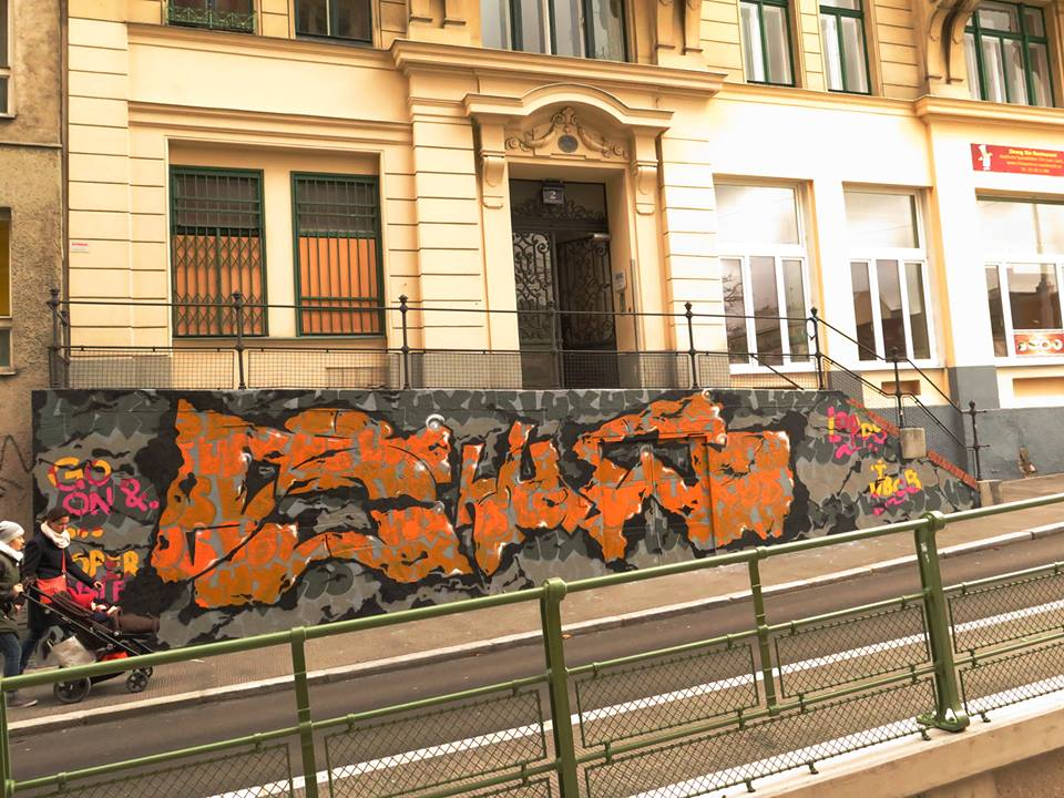 SHUE  (lords/jbcb) entrance to INOPERAbLE, Vienna