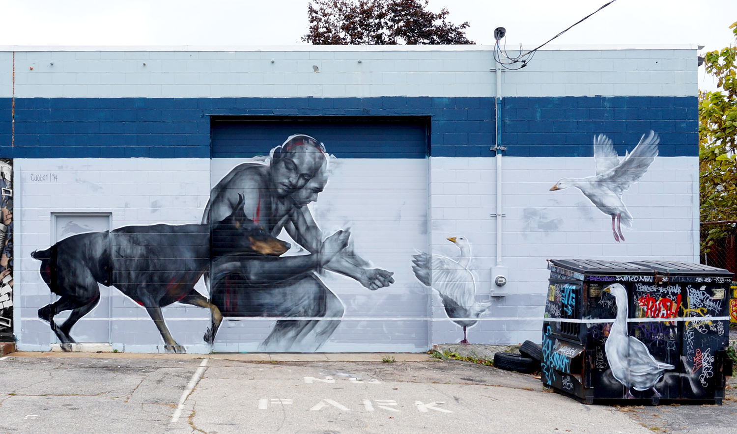EVOCA1  curated by INOPERAbLE for  Avenue Concept , Providence RI, USA