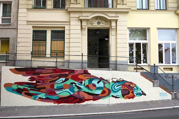 REKA  entrance to INOPERAbLE, Vienna