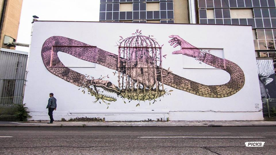 ALEXIS DIAZ  curated by INOPERAbLE, Graz  for  Livin' Streets Festival
