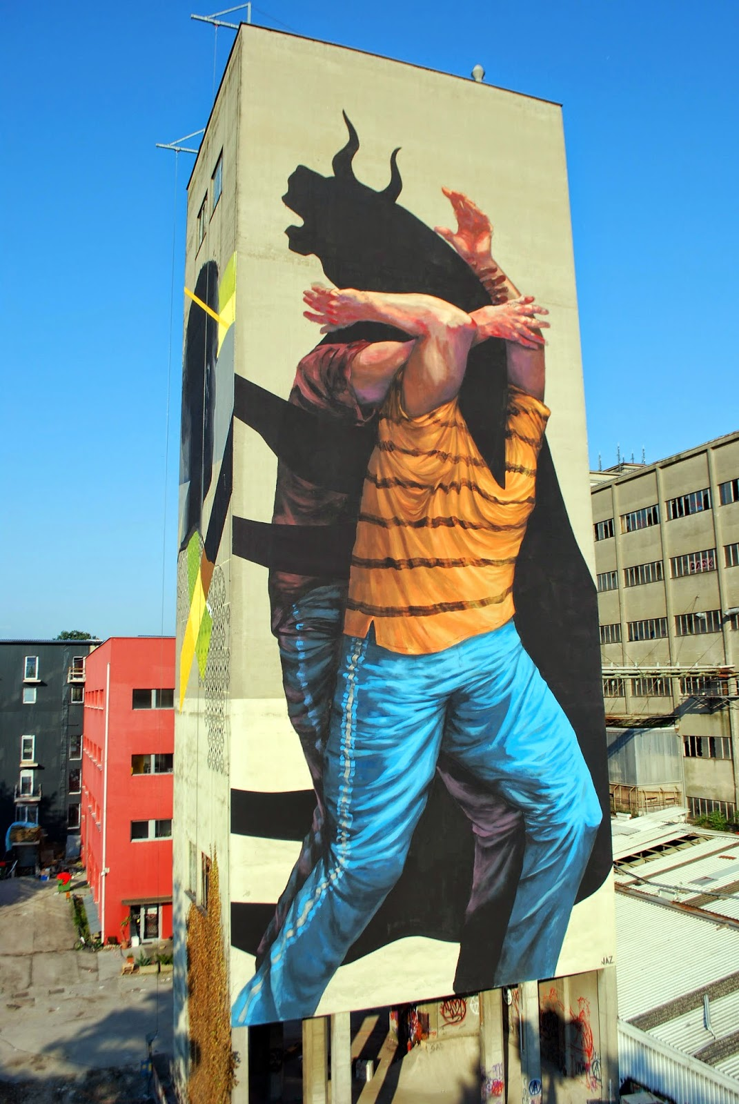 """JAZ """"The Weight of the History 3″  curated by INOPERAbLE, Graz  for  Livin' Streets Festival"""