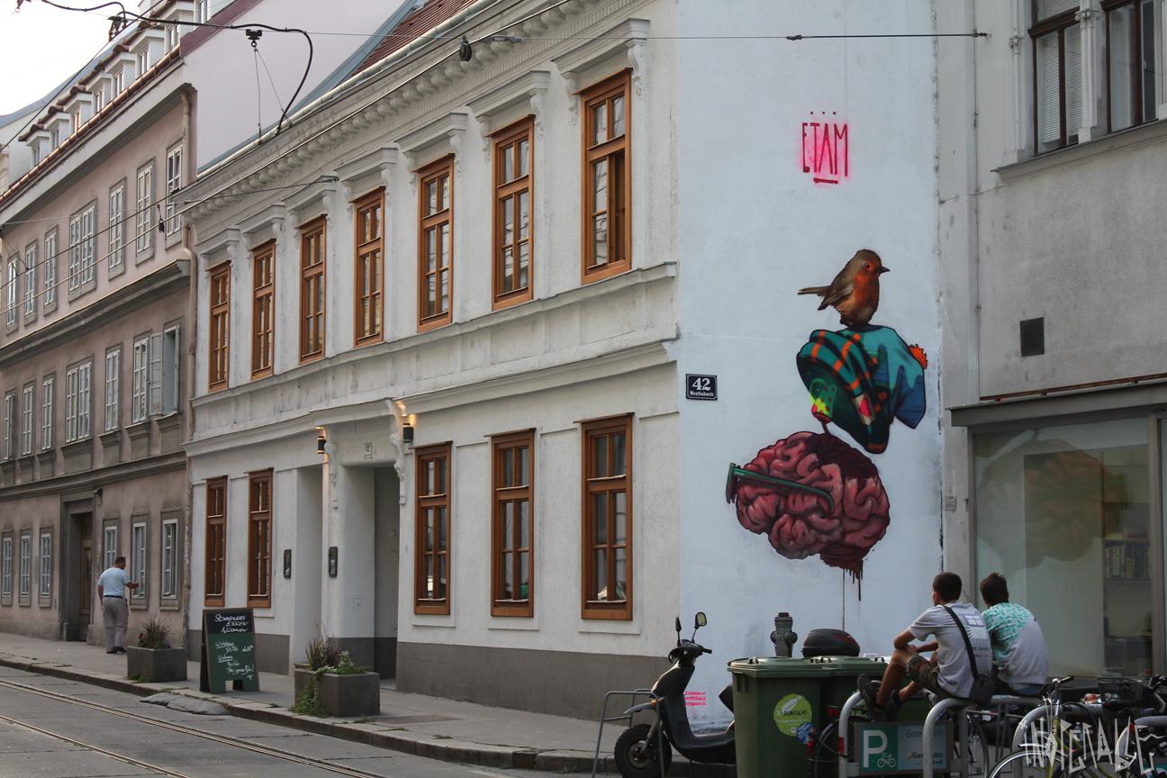 ETAM CRU, Westbahnstrasse,Vienna