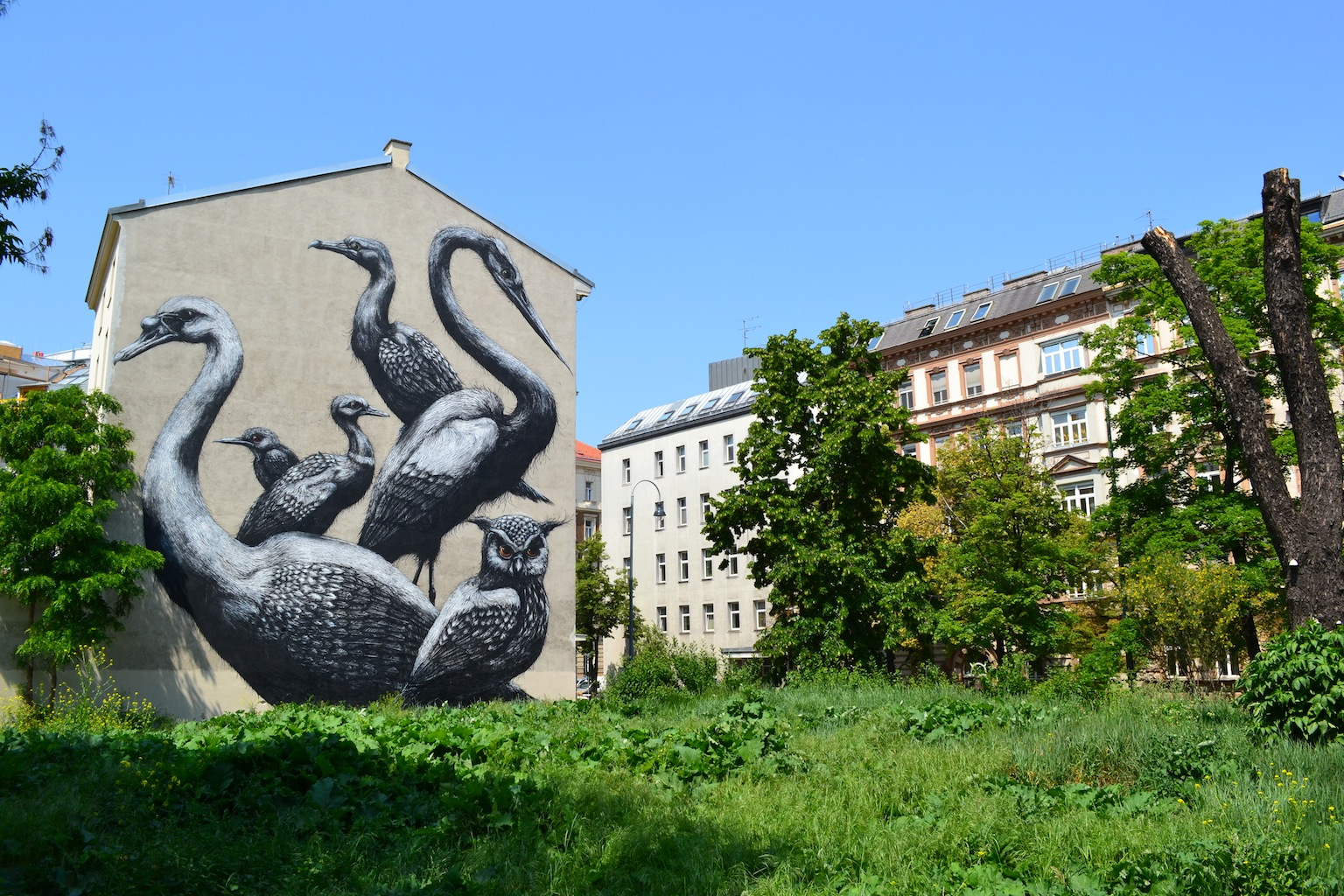 ROA,  Lazarettgasse, Vienna  Support KVHS